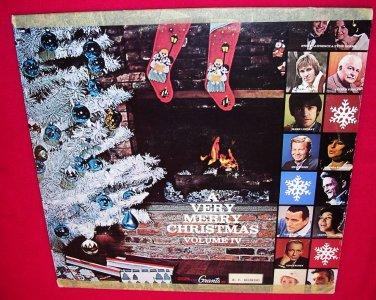 A Very Merry Christmas Volume IV~Grants LP 33�-Streisand/Cash/Crosby/Torme/Andrews/Gorme/Bennett