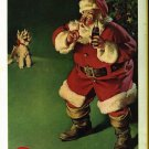 Coca Cola Christmas Santa Claus 1961 National Geographic advertisement Vintage Coke