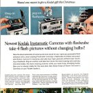Kodak Instamatic Cameras with Flashcube 704,804 1965 National Geographic advertisement Vintage