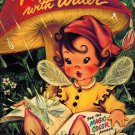 Paint With Water-See The Magic Color Appear-Pixie/Fairy Merrill 1954 kids fairly good VTG condition