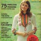 Good Housekeeping Magazine Needlecraft Spring-Summer 1972 Macrame Patterns Knit Crochet VTG fashions