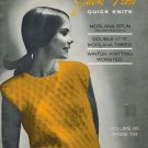 Jack Frost Quick Knits Knitting PB/Mag 1965 Volume 66 VINTAGE Morlanda/Wintuk tweed/worsted