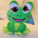 "Sugar Loaf NEN Frog 11"" National Entertainment Network 2011 Sugarloaf Toys NEW NWT Free Shipping"