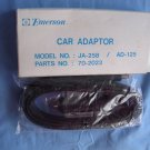 Emerson Car Adapter JA-258 AD-125 70-2023 NEW NIB Mystery Adapter,NO idea what this is for,Free S&H