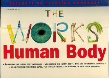 The Works Human Body Interactive Learning Workbook Wire-bound 1997 By Sally Hewitt