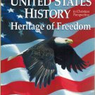 United States History Heritage Of Freedom In Christian Perspective 2nd  Ed 2002 Abeka A Beka