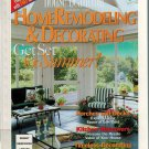 Home Remodeling & Decorating~Get Set For Summer 1999 House Beautiful Porch & Decks Kitchen Makeover