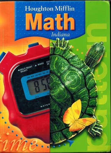 Houghton Mifflin Math Mathematics Indiana: Student Edition Level 4 Hardback 2005