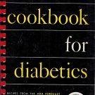 Cookbook For Diabetics-Deaconess Maude Behrman-ADA Forecast Recipes American Diabetes Assoc 1959