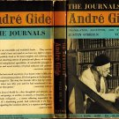 The Journals Of Andre Gide Volume II:1924-1949 Translated,Selected,Edited By Justin O'Brien Pb/1956