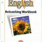 English: Reteaching Workbook Grade 2 PB Houghton Mifflin Sentence Narrative Nouns Pronouns Verbs...