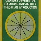 Ordinary Differential Equations And Stability Theory:An Introduction By David A. Sánchez PB/1979