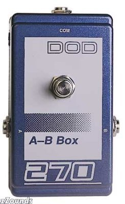 DOD 270 A/B Switching Pedal