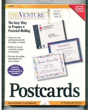Postcards CD Create Your Own Postcards Software