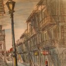 St. Peters' Street , Vieux Carre, New Orleans(Artist-Franz Weiss)