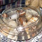 Handmade Seashells Gel Candle Centerpiece