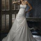 FW315 Free Shipping Sweetheart Taffeta A-line Wedding Dress