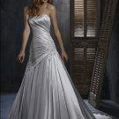 FW320 Promotional Sweetheart A-line Satin Wedding Dress