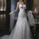 FW329 Free Shipping Sweetheart A-line Organza Bridal Gown
