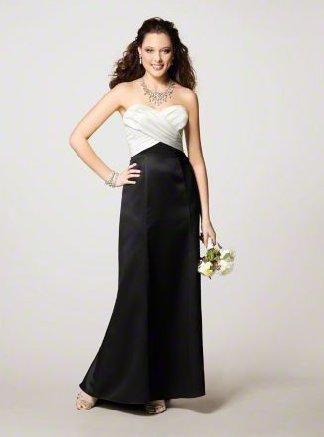 FB0013 Sweetheart A-line Floor-length Satin Bridesmaid Dress