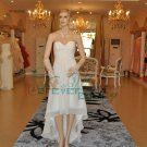 beach style bridal dress