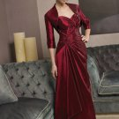 V0121 Free Shipping Sweetheart A-line Red Mother Dresses