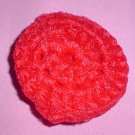 Crocheted Red Scrubbies Scrubby