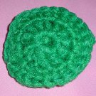 Green Crocheted Scrubbies Scrubber