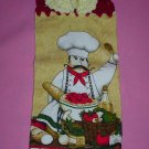 Crocheted Hanging Buttonless Dishtowel Italian