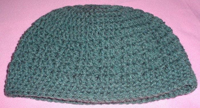 Mens Beanie Hat Heather Green