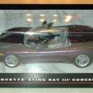 Corvette Sting Ray III CONCEPT AMT/Ertl Die-Cast MISB