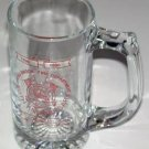 Broodbrook Connecticut 100th Anniversary Fire Department Glass Stein