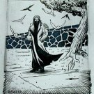 Wizards of the Coast Original ART #14 Pigeon-Man 2/2