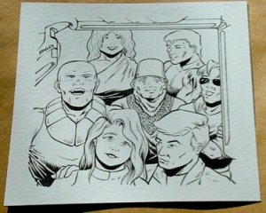 Steve Jackson Games Original ART #1 Characters