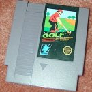 NINTENDO GOLF Vintage NES game+FREE SIGNED Trading CARD