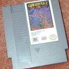 GAUNTLET II Vintage NES game+FREE SIGNED Trading CARD!