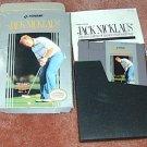 JACK N. GOLF NES game/box/manual+FREE SIGNED CARD