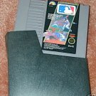 MAJOR LEAGUE BASEBALL NES game+FREE SIGNED Trading CARD