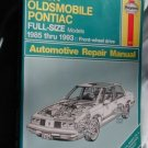 Buick Oldsmobile Pontiac FULL-SIZES 85-93 repair manual