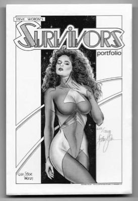 Steve Woron's SIGNED/Numbered SURVIVORS 1988 Portfolio!