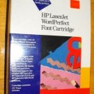 HP LaserJet WordPerfect Font Cartridge:CG Times,Univers