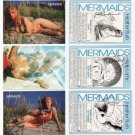 Undistributed MERMAIDS PROMO Card Set~Signed 3 Times~!