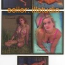 SIGNED SWIMSUITS & MERMAIDS ~SPECIALTY CHASE 5 CARD set