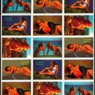SWIMSUITS and MERMAIDS 15 sexy Promo Card Set~FREE SHIP