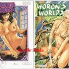 (Steve) Woron Worlds #1A and 1B+Signed +VAMPI SIGNED!