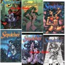 Don Paresi's SEPULCHER all 6 Issues w/ALTERNATE covers!