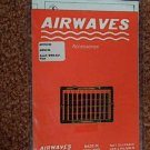 Airwaves 1/72 Scale. R.A.F. WWII Rocket Fins Detail Set