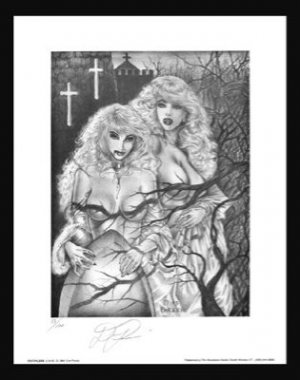 Paresi's #2 of 7 VAMPIRE fantasy print S/N'd 2 for1 BIN