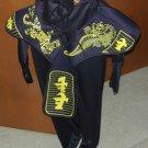 NINJA GAIDEN Kids Halloween Costume Med 8-10 worn 1X