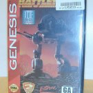 BattleTech - a game of armored combat for Sega Genesis